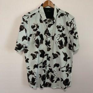 7 diamonds button down shirt